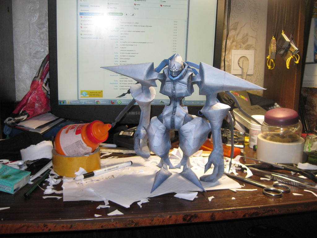 Twilight Thorn papercraft by Zimberdum