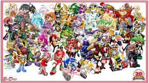 BroDogz 20th Sonic Anniversary Series by BroDogz