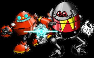 Classic Badniks! Egg Bro-Pawn by BroDogz
