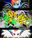 Com: Sonic Shadow Rainbow Dash - Chaos Ascension
