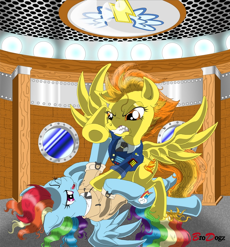 comm__spitfire_and_rainbow_dash___filly_