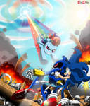 Comm: Sonic and Dash vs Metal - Taste the Rainbow by BroDogz