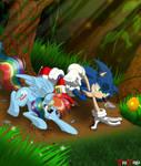 Com: Sonic vs. Rainbow Dash - The Race