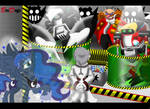 Commission : Sonic and MLP - Eavesdrop