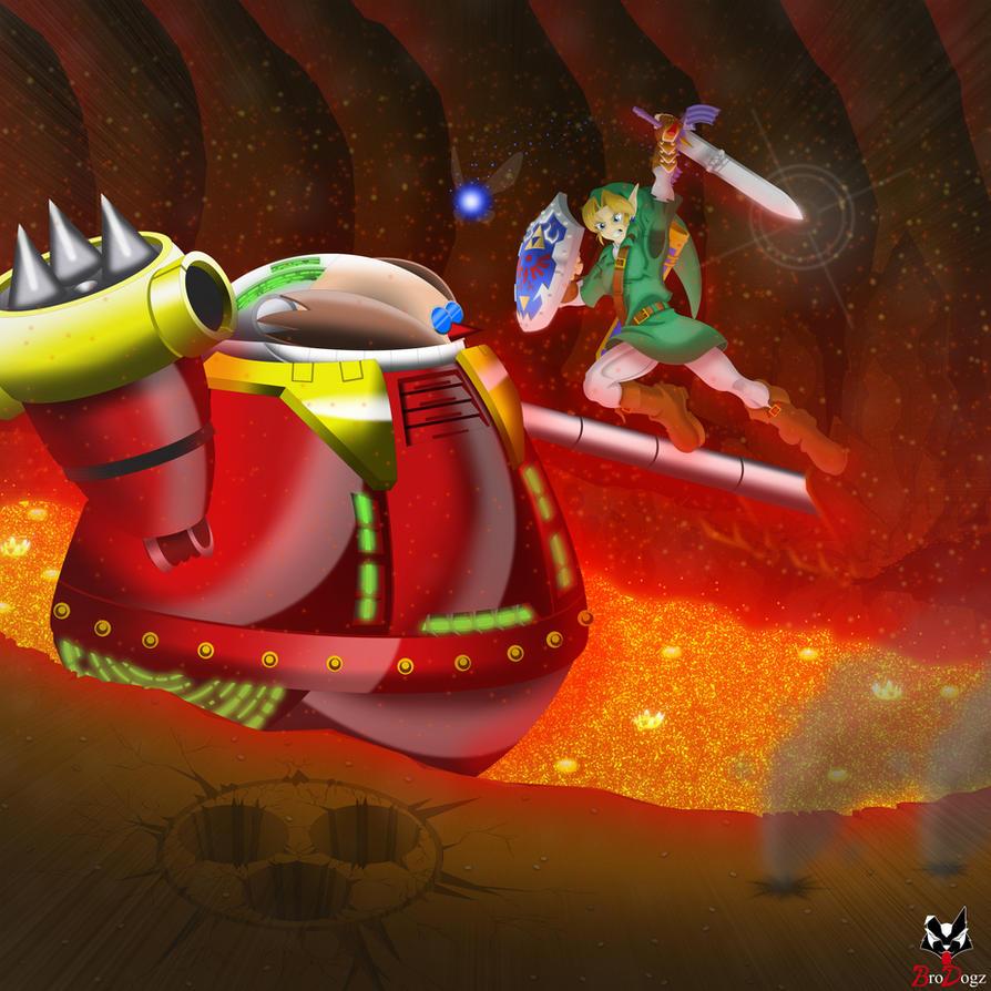 Comm: Link vs Death Egg Robot - Finisher by BroDogz