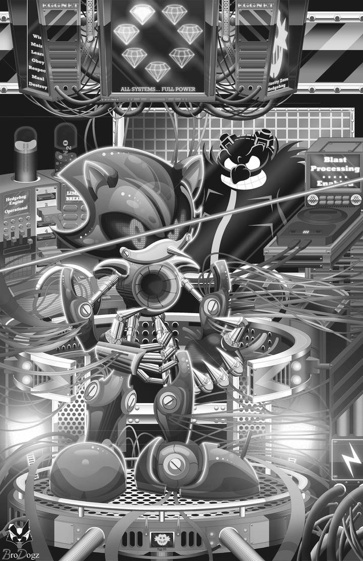 Metal Sonic: Metal Matrix INK