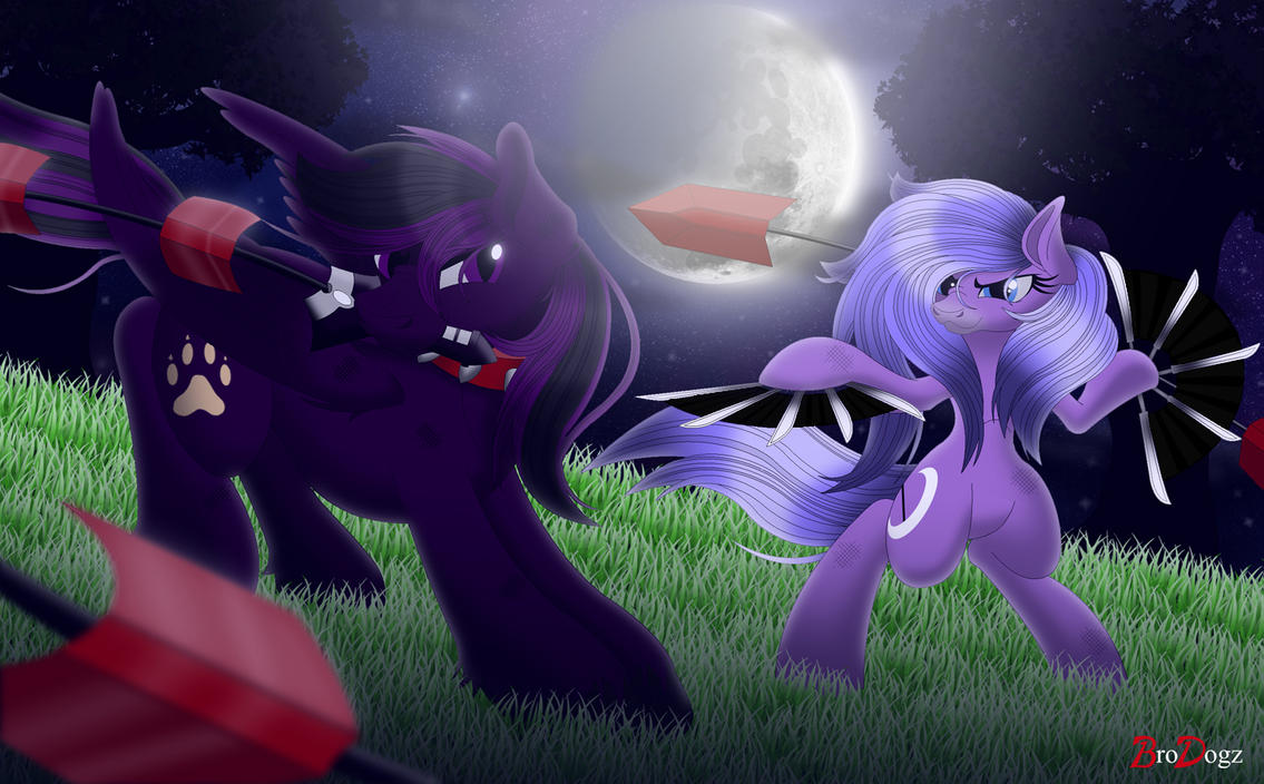 Commission: MLP - Fight Through the Night by BroDogz