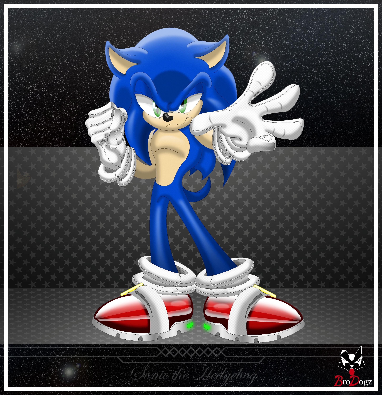 Comm Sonic The Hedgehog Knight By Brodogz On Deviantart