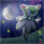Cosmo the Seedrian - Moonflower by BroDogz