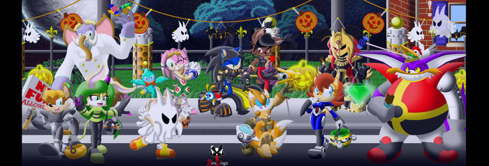 Sonic: Freedom Fighters - Costumed Crusaders