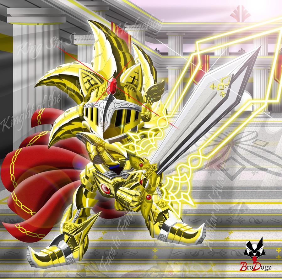 Excalibur Sonic - Avatar of Avalon by BroDogz