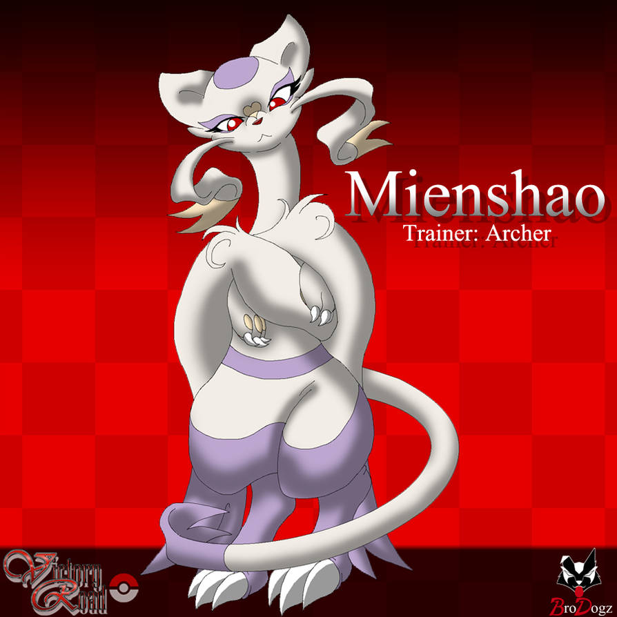 Victory Road Mienshao By Brodogz On Deviantart