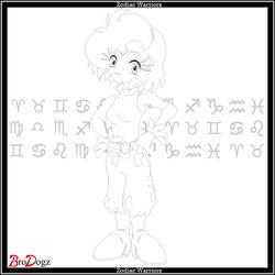 Comm: Zodiac Warrior - Human (Kim) by BroDogz