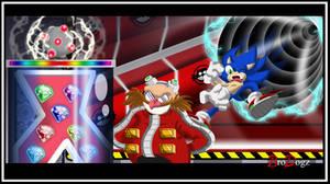Comm : Sonic vs Eggman - Farewell by BroDogz