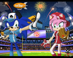 Sonic and Amy - Primetime Pastime