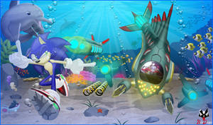 Comm: Sonic v Eggman: Deepest Depths