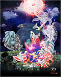 Sonic and Raa - Phantom Moon