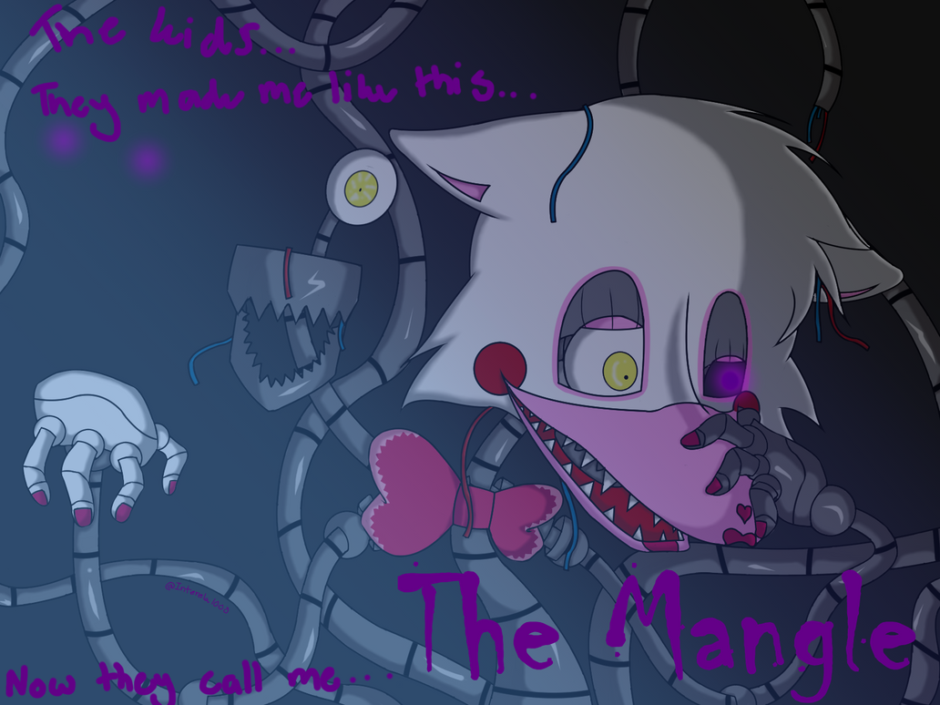 Fnaf 2 Contest Entry Mangle W Speed Draw By