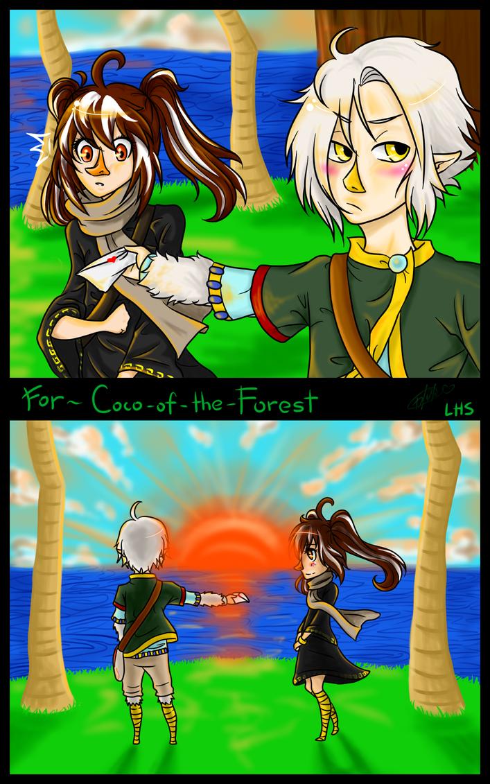 RQ: Neli and Kosumi by loveHinaSasu