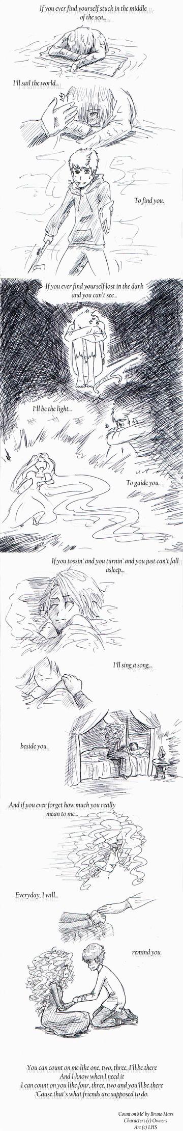 Big4: Count on Me by loveHinaSasu