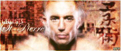 Georges St-Pierre sig by The1MFP