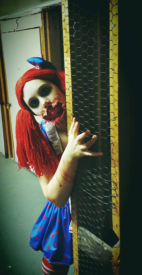 Welcome to the Doll House~Zombie Raggedy Ann by Jules-d-Ar
