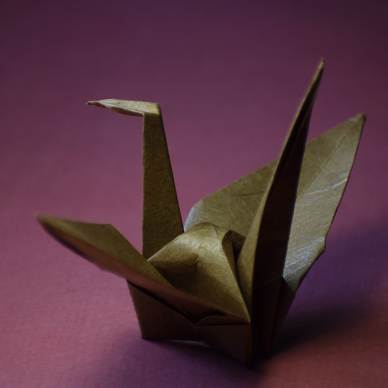 Origami Crane by 0-kelley-0