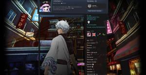 Gintama | Steam Profile Design