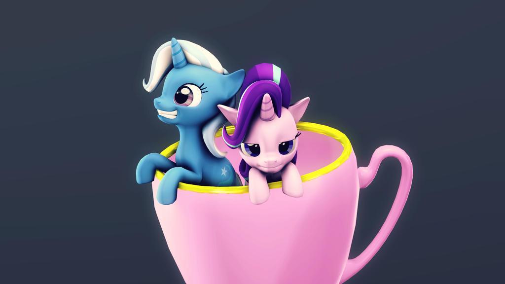 Teacup by FlushTheBatSanta