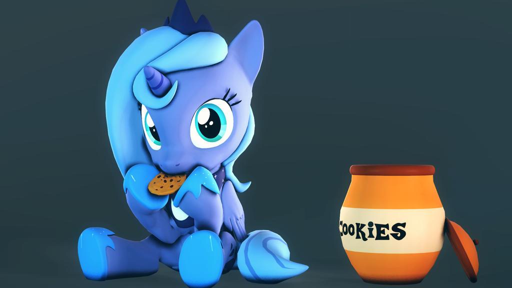 Moon-Cookies by FlushTheBatSanta
