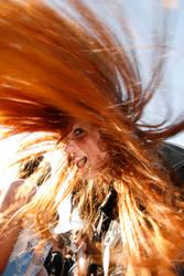 Headbanging Redhead by Duncantheblack