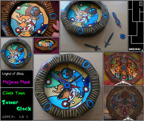 Zelda - Majoras Mask - Clock