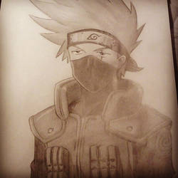 Kakashi by JumpyJen