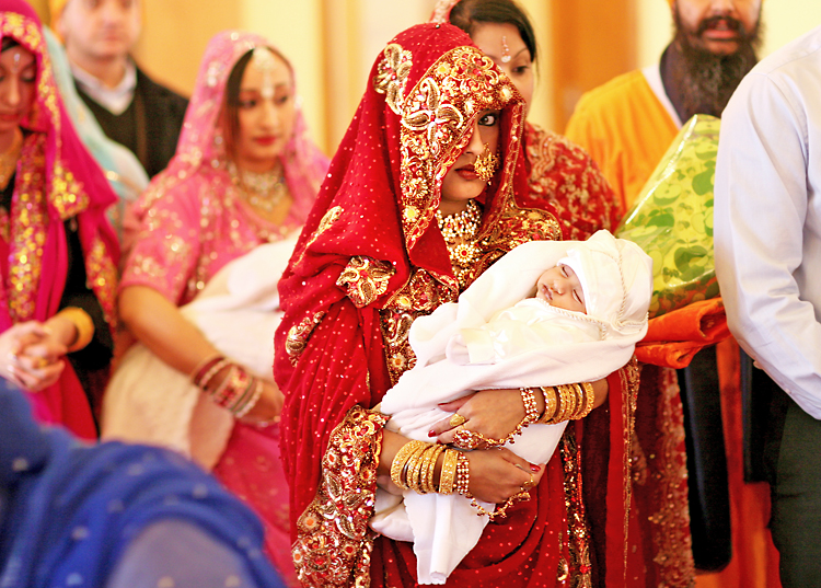 Sikh Mother II by shwtterbwg