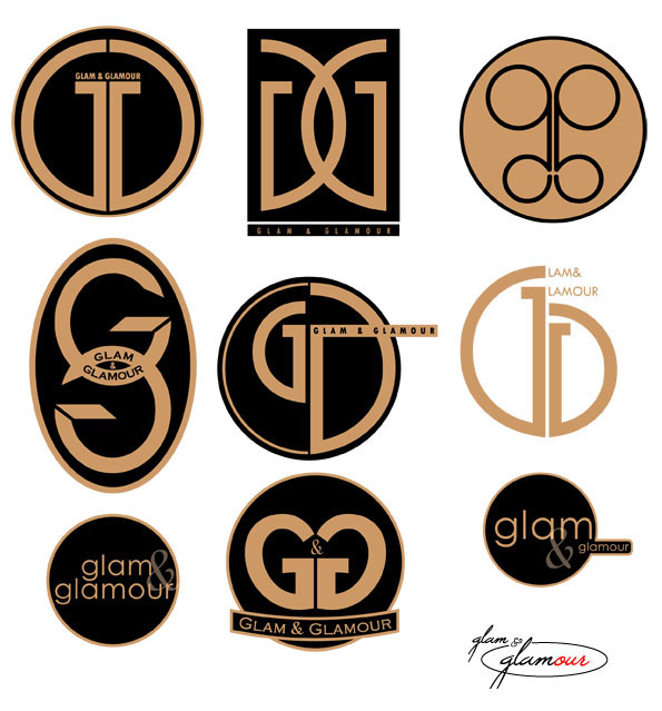 glam and glamour logo 3 by chelick on deviantart