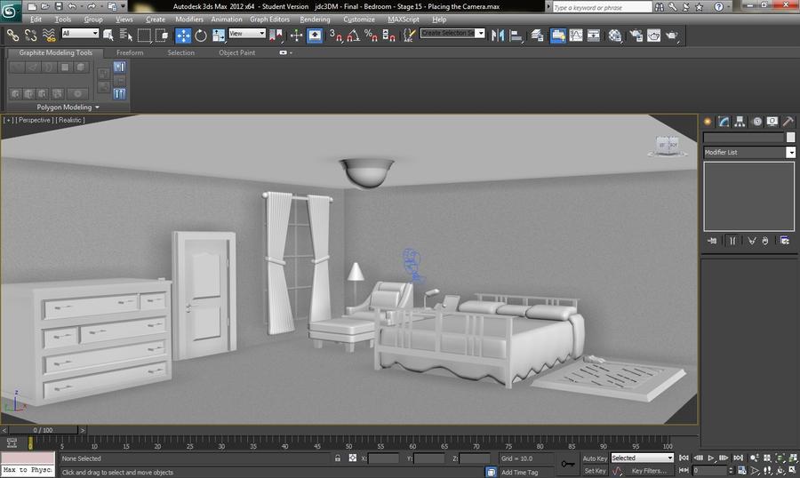 3ds Max 2012 The Bedroom Design By Ghostjason On Deviantart