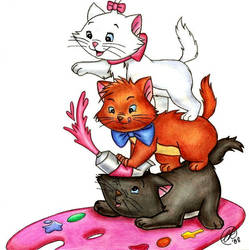The Aristocats by RainbowRose912