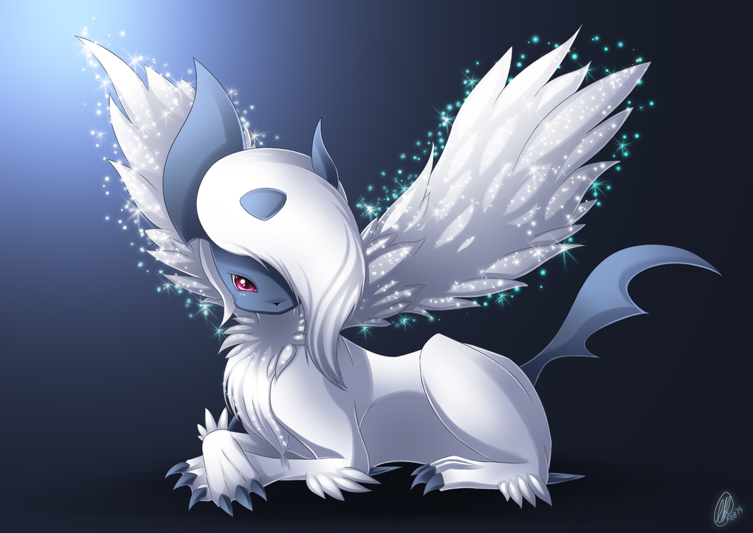 Mega Absol by RainbowRose912