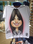 Caricatura em Camiseta - 06
