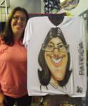 Caricatura em Camiseta - 08