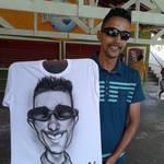 Caricatura em Camiseta - 09