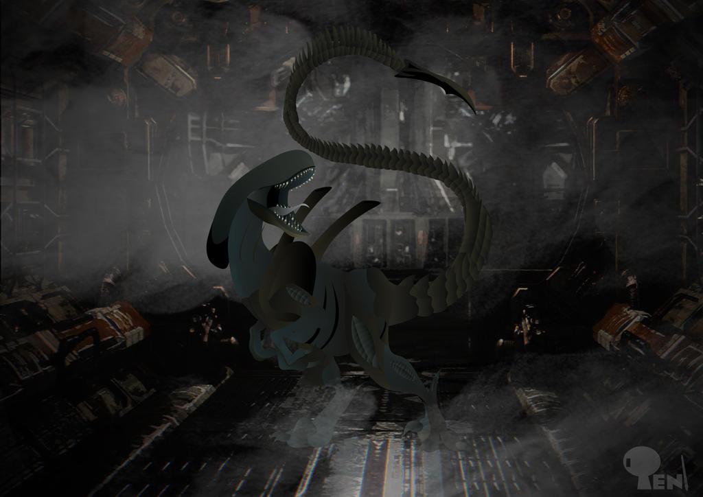 xenomorph raptor - photo #13