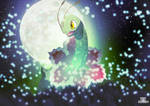 Meganium - The Gentle Pokemon by EdoNovaIllustrator