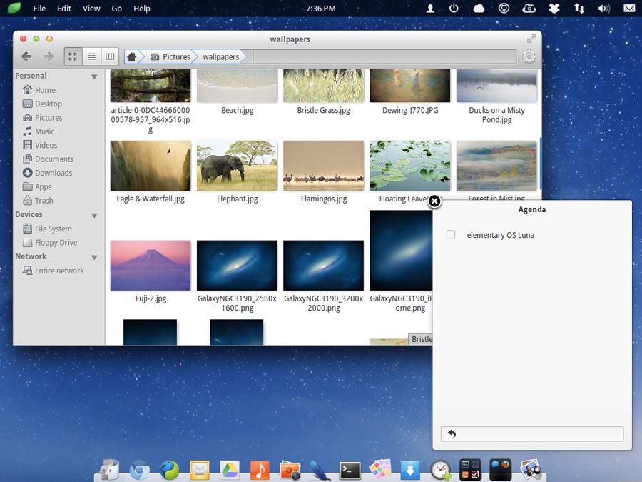 elementary OS Luna Appmenu 2 by kxmylo