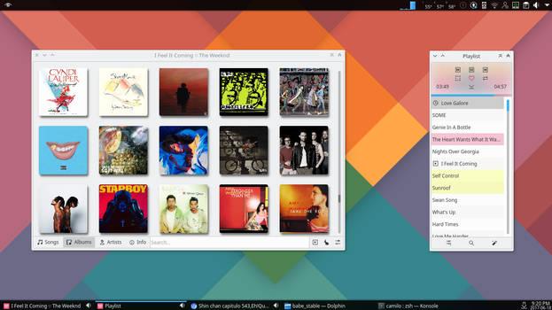 Babe KDE music player