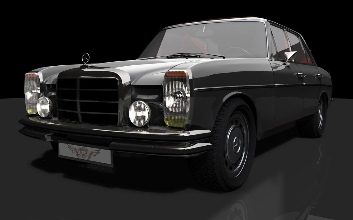 1968 Mercedes w114 Headlight03