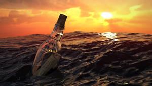 Bottle Mail Ltd- Sending your message in a bottle by Entangled-Minds