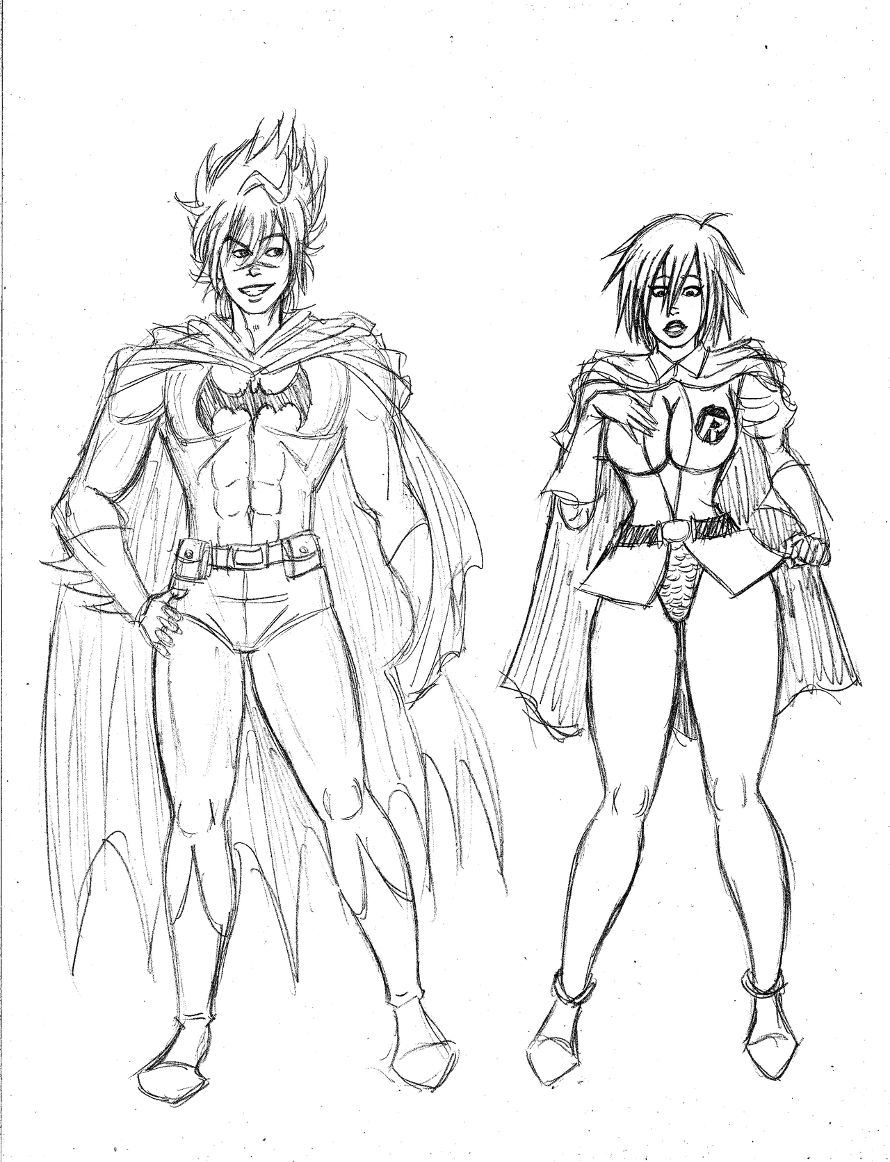 Rascunhos do Frog - Página 2 Carter_and_rhiven_as_batman_and_robin_by_frogwalker-d4ujkev