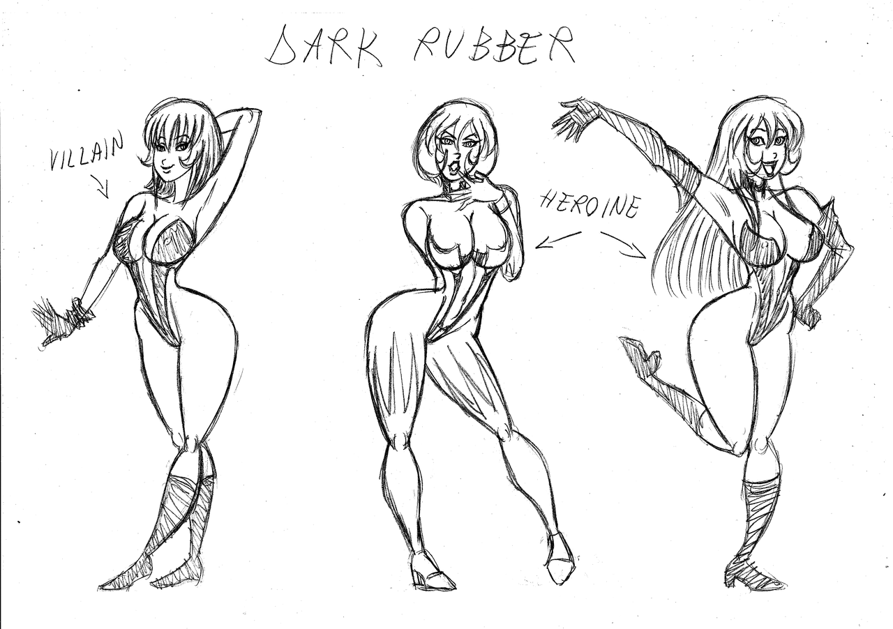 Rascunhos do Frog - Página 2 Dark_rubber_models_by_frogwalker-d4uvo66