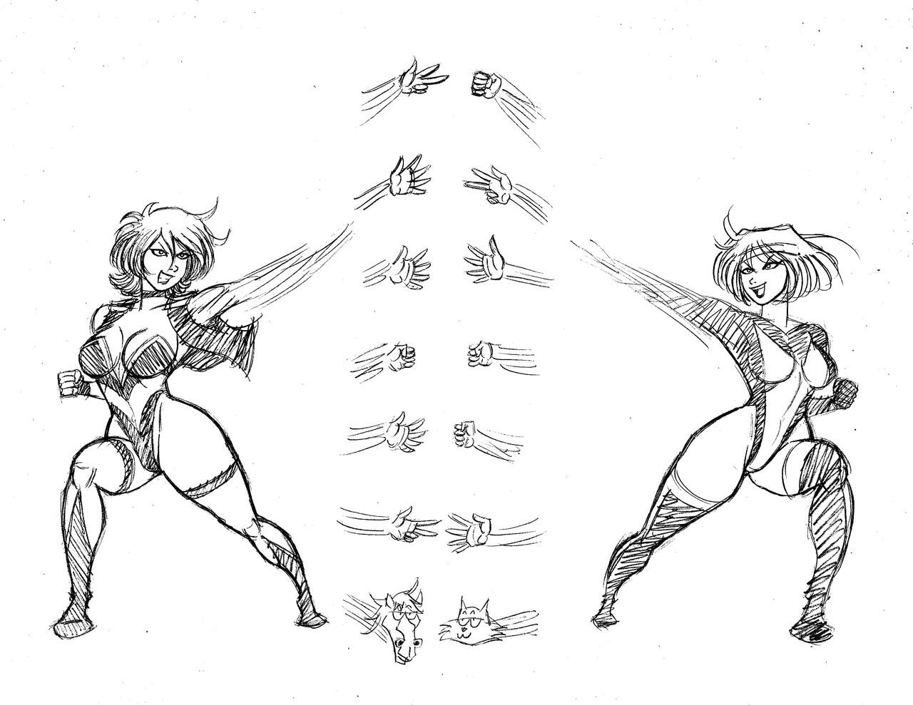 elastic sparring 002 by frogwalker on deviantart